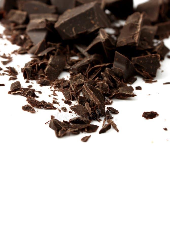 obscurité de chocolat images stock