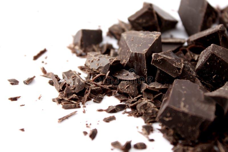 obscurité de chocolat photos libres de droits