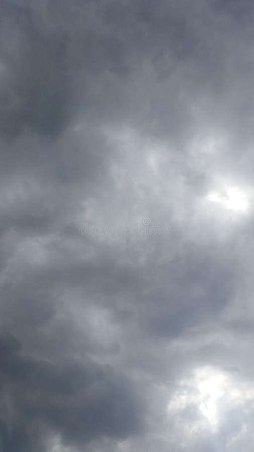 Observação da nuvem fotografia de stock