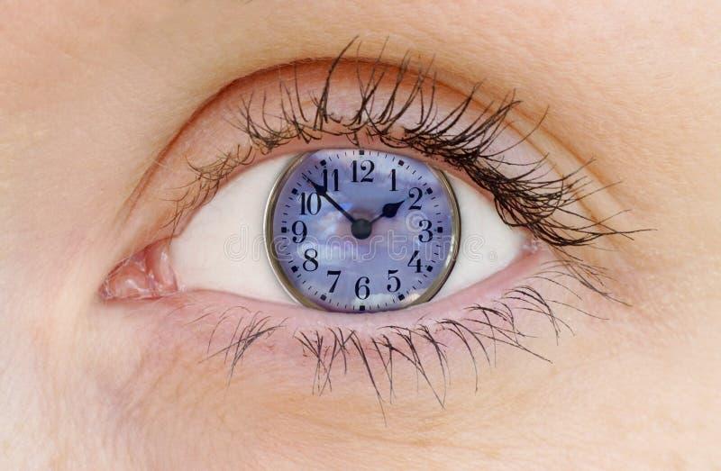 Observación del reloj stock de ilustración