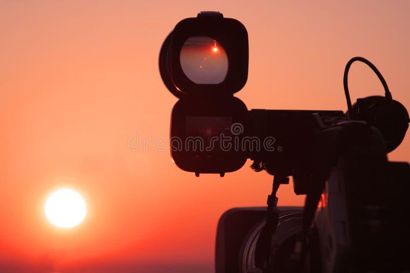Observación del sol fotos de archivo