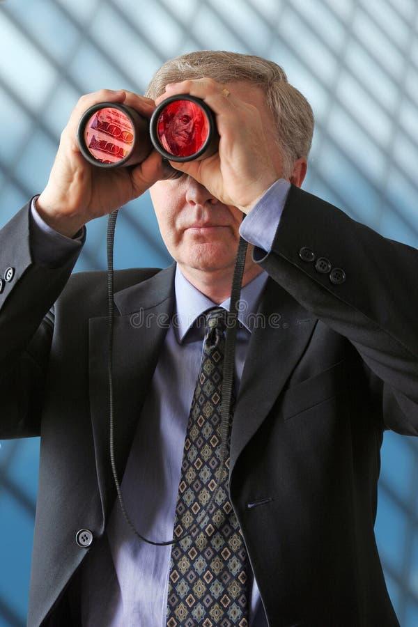 Observador do dinheiro foto de stock