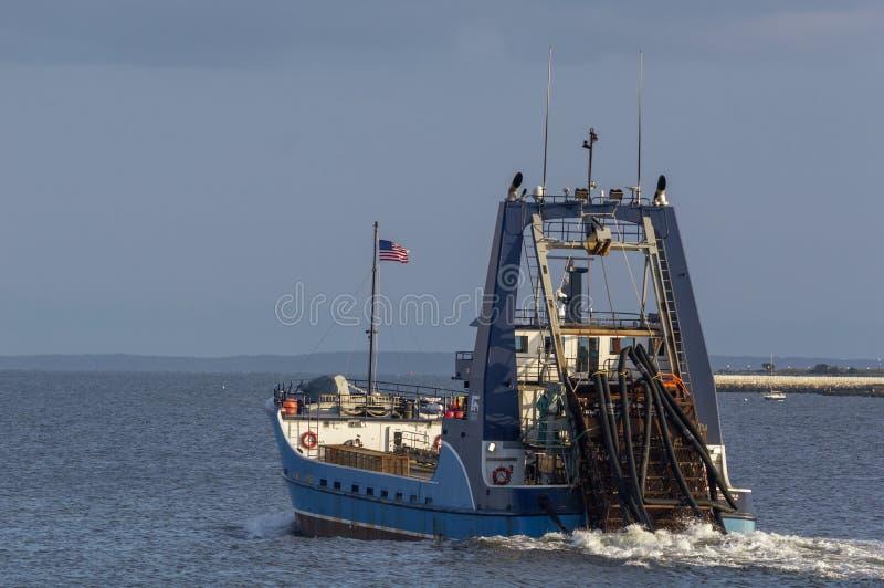 Observateur de mer de navire de pêche professionnelle II photo libre de droits