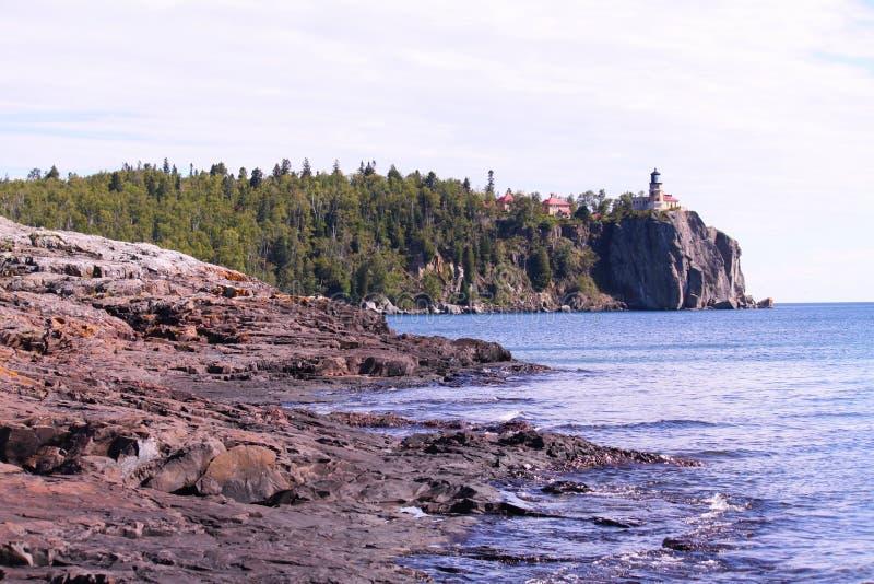 Observation de la côte photo stock