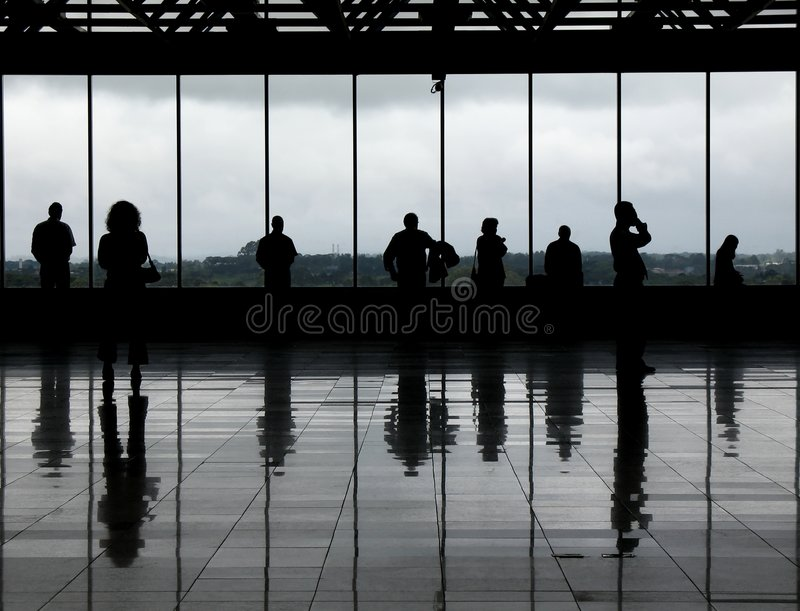 Observation deck - 1 stock image