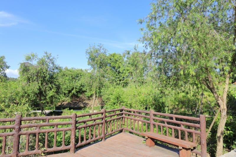 Observation deck of xiangshan park, adobe rgb. Observation deck with railing in xiangshan park, xiangan district, xiamen city, fujian province, china. xiangshan stock image