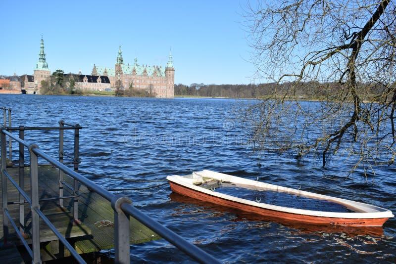 Observation du château images stock