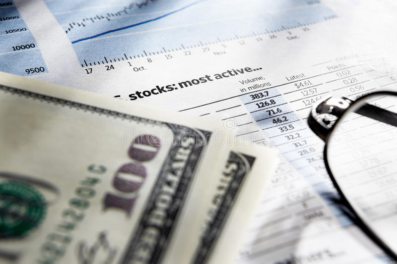 Download Observation Of Stock Exchange Data Stock Image - Image: 18634045