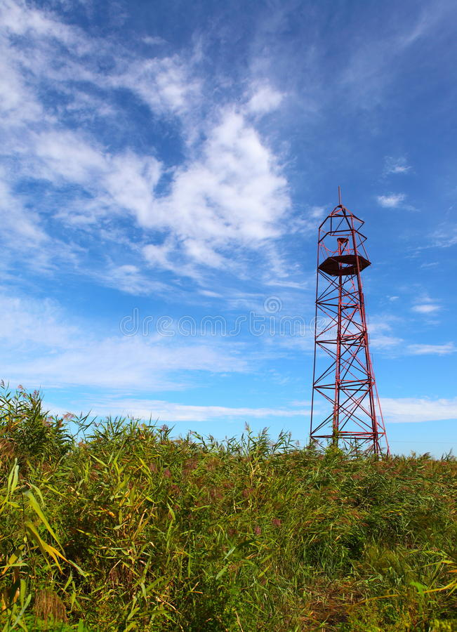 Download Observation tower stock photo. Image of field, pedestrian - 23588976