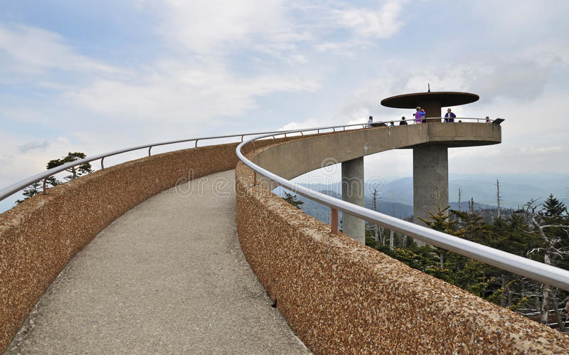 Observation Tower, Clingmans Dome, Smoky Mountains ...