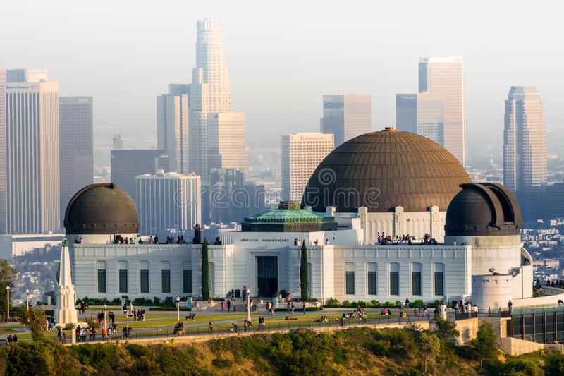 Observatoire de Griffith Park photographie stock libre de droits