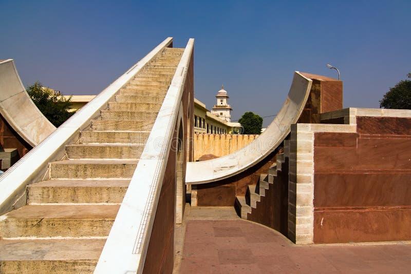 Observatoire de Jantar Mantar image libre de droits