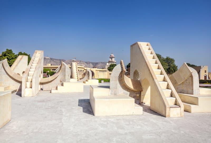 Observatoire de Jantar Mantar images libres de droits