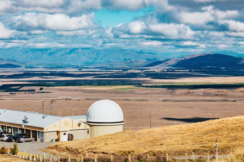 Observatoire de John de bâti au lac Tekapo photo libre de droits