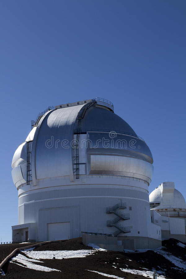 Observatoire de Mauna Kea photo stock