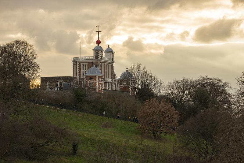 Observatoire royal du ` s de Greenwich images libres de droits