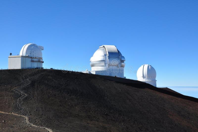Download Observatories On Mauna Kea - Big Island, Hawaii Stock Image - Image: 25380389