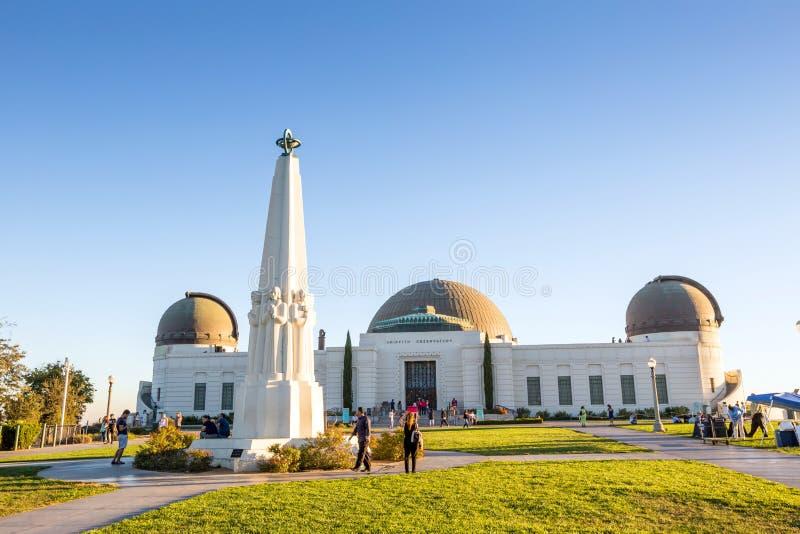 Observatorio de Griffith en Los Ángeles foto de archivo