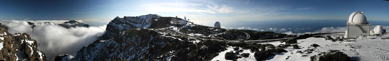 Observatorio de Palma del La fotos de archivo libres de regalías