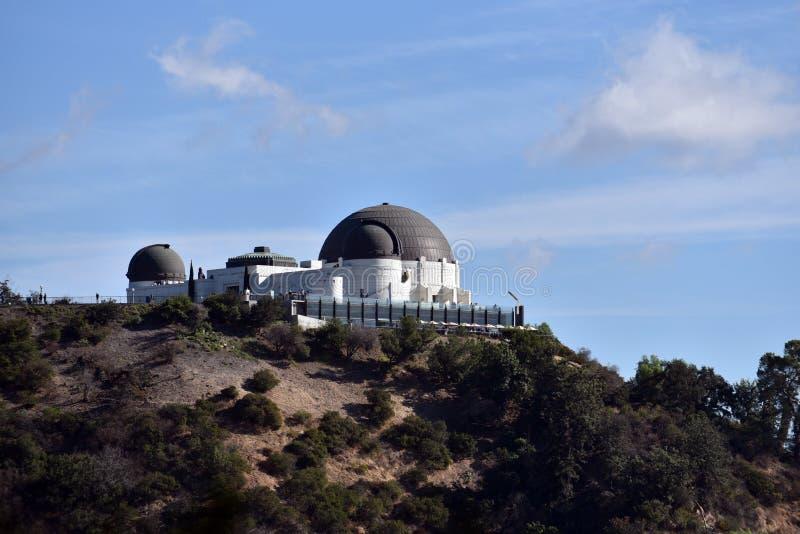 Observatorio de Parque Griffith imagen de archivo libre de regalías