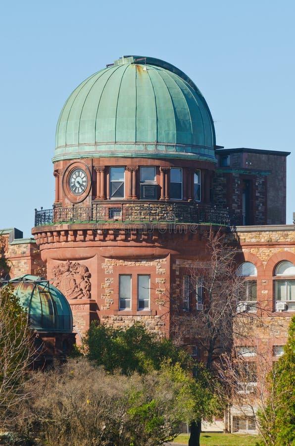 Observatorio del dominio en Ottawa, Canadá imagenes de archivo