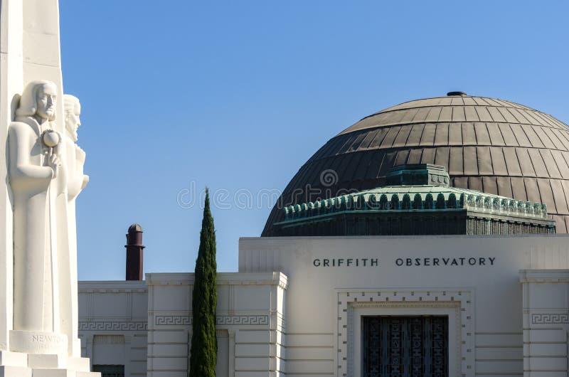 Observatorio Griffith imagen de archivo libre de regalías