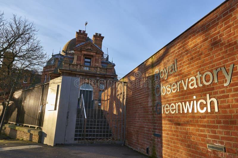 Observatorio real Greenwich fotografía de archivo