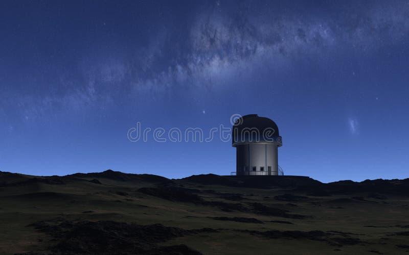 observatorium royaltyfri fotografi