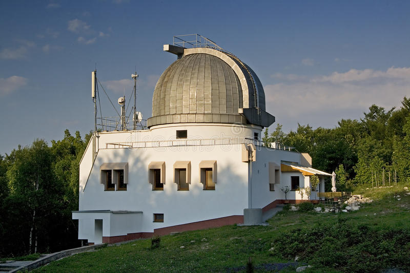 observatorium royaltyfri bild