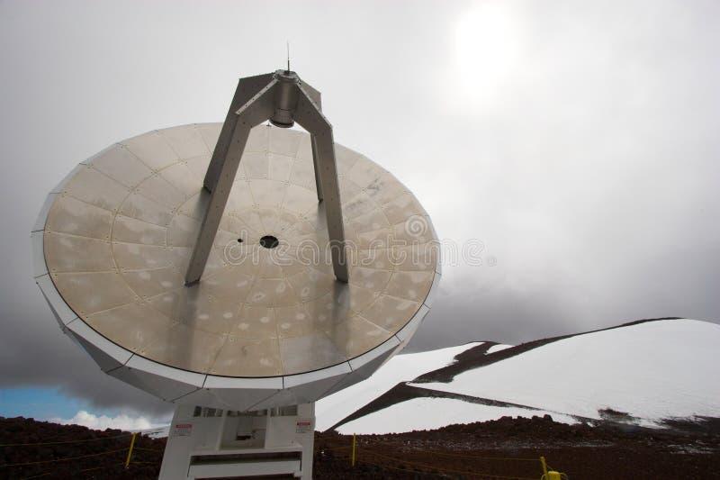 observatoriumsnow royaltyfri fotografi