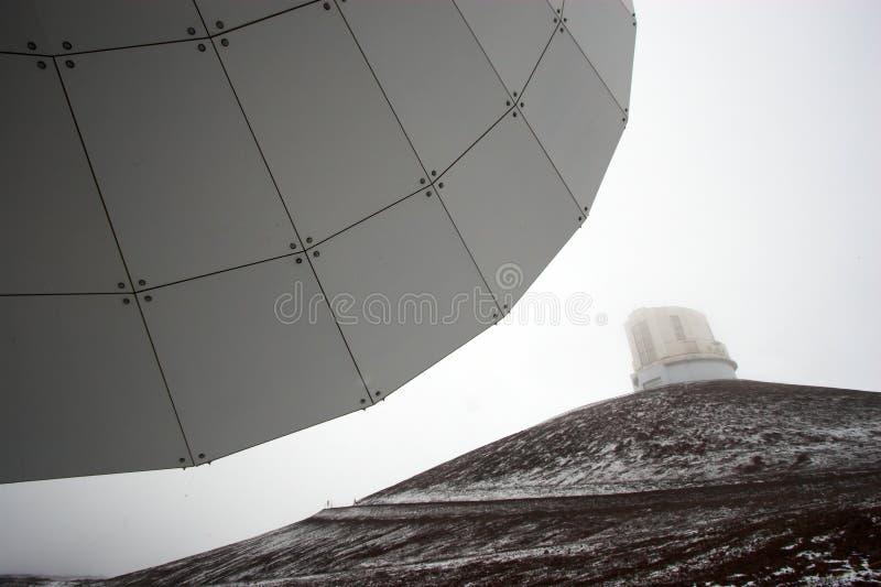 observatoriumsnow arkivfoto