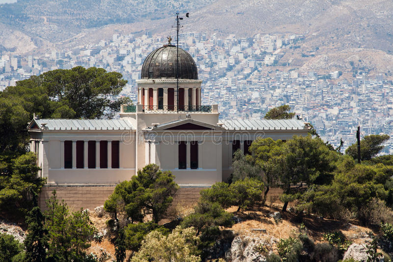 Download Observatory Athens Greece stock image. Image of building - 25800781