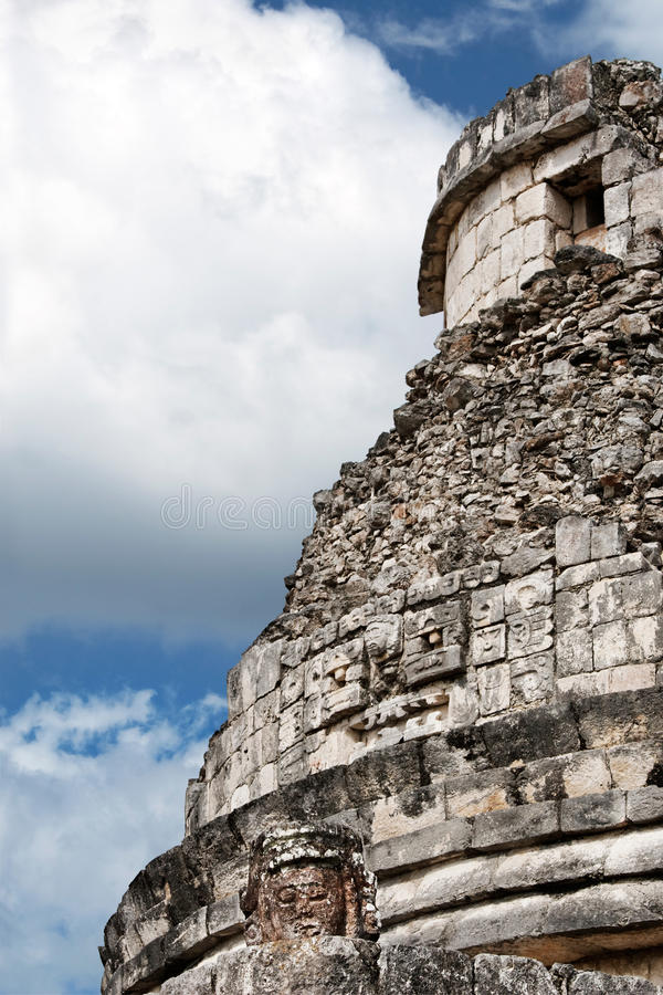 Download Observatory, Chichen Itza stock photo. Image of ancient - 21485538