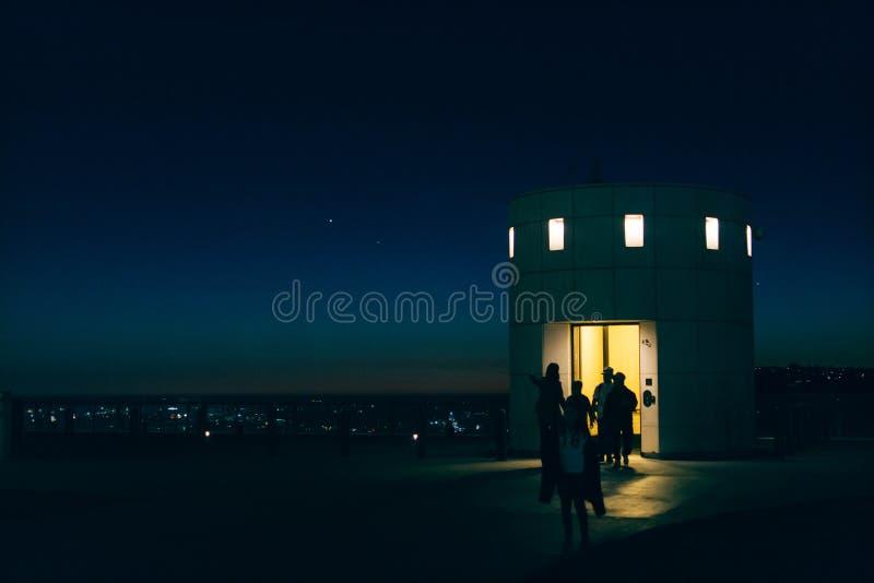 Observatory Elevator stock images