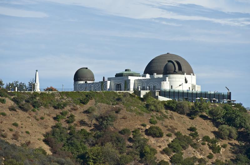 Observatory Griffith stock photo