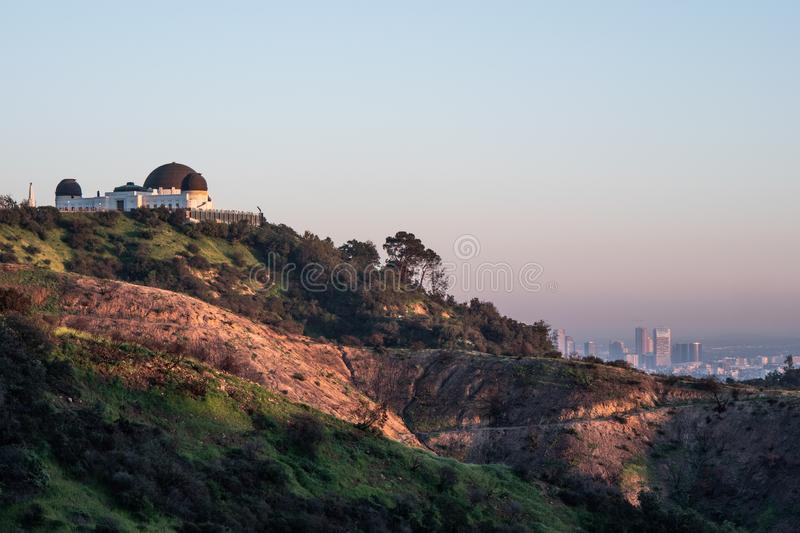 Observatory at Griffith Park - CALIFORNIA, USA - MARCH 18, 2019 stock photo