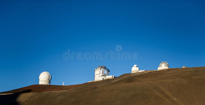 Download Observatory on hillside stock photo. Image of background - 26179866