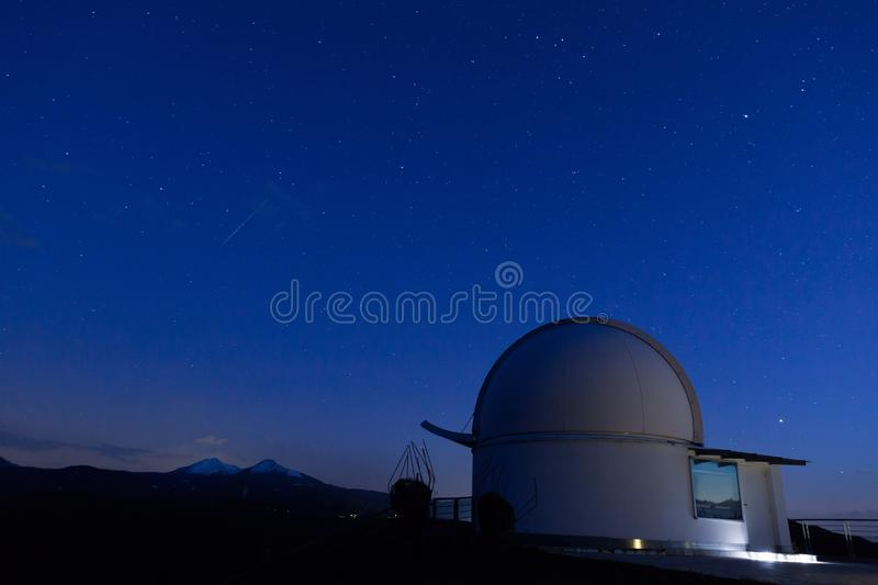 Observatory At Night Free Public Domain Cc0 Image