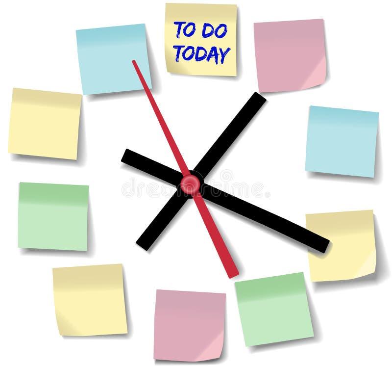 Download Observe El Reloj De Tiempo Ocupado Del Día De Las Notas Ilustración del Vector - Ilustración de manos, horario: 42426820