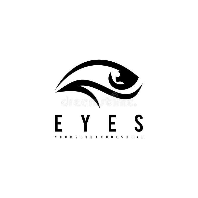 Observe le logo Calibre de logo pour vos affaires illustration libre de droits