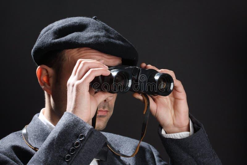 obserwator obraz stock