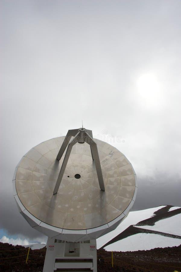 obserwatorium śnieg zdjęcia royalty free