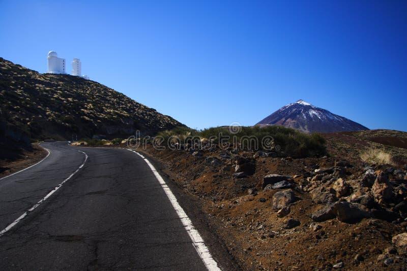 obserwatorium astronautyczny Tenerife obraz stock