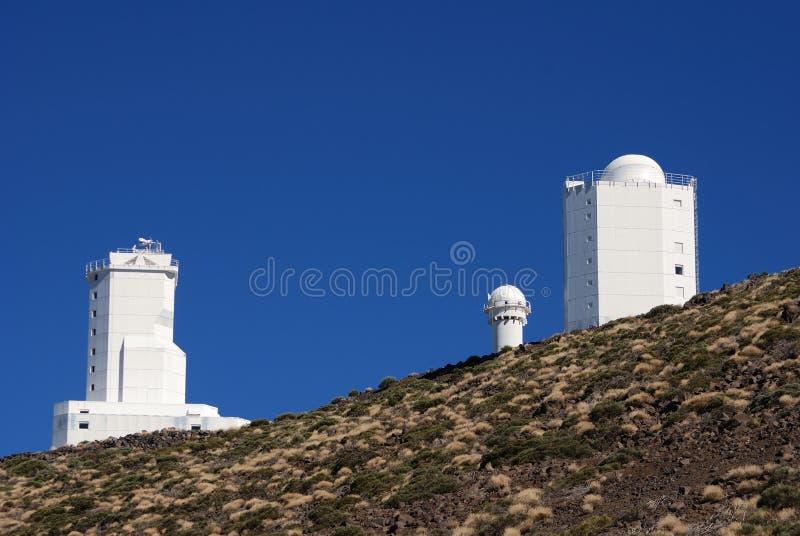 obserwatorium Tenerife zdjęcie stock