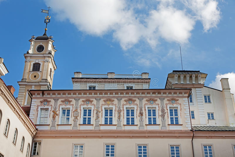 obserwatorski uniwersytecki Vilnius zdjęcie royalty free