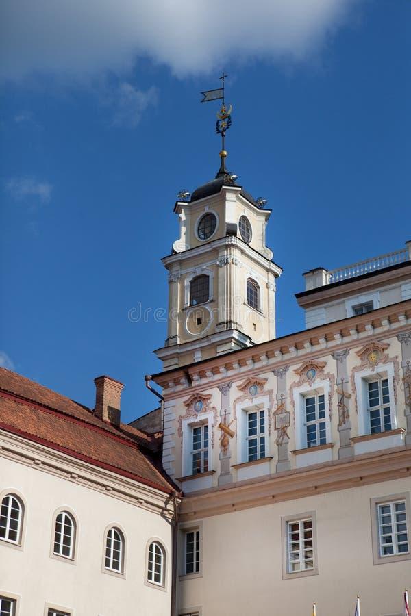 obserwatorski uniwersytecki Vilnius fotografia royalty free