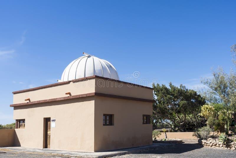 Obserwatorskiej kopuły canry wyspy obrazy royalty free