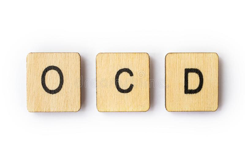Obsessive Compulsive Disorder royalty free stock photos