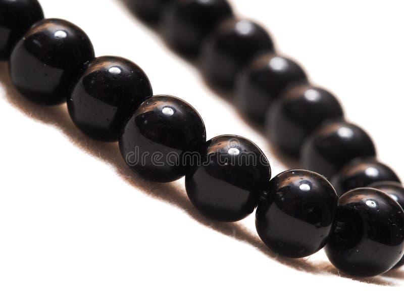 Obsidianhalsband royaltyfri foto