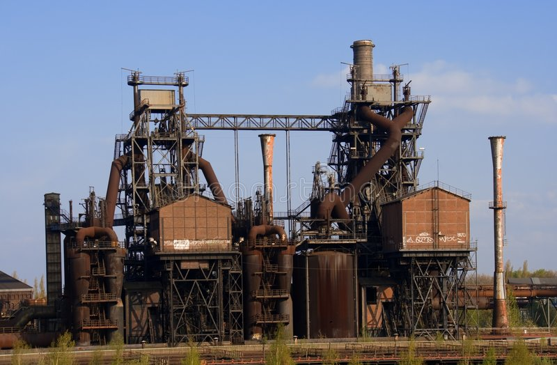 Download Obsolete Industrial Plant Stock Photography - Image: 5050332